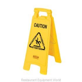 Rubbermaid FG611200YEL Sign, Wet Floor