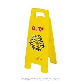 Rubbermaid FG611278YEL Sign, Floor (Housekeeping)