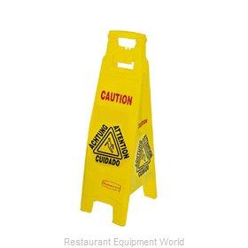 Rubbermaid FG611400YEL Sign, Wet Floor
