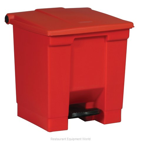 Rubbermaid FG614300RED Trash Garbage Waste Container Stationary