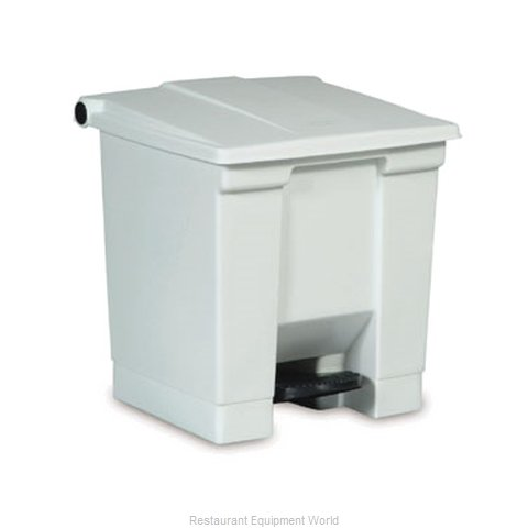 Rubbermaid FG614300YEL Trash Garbage Waste Container Stationary