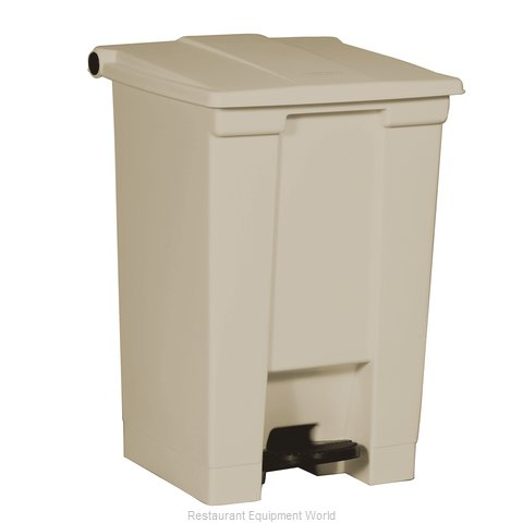 Rubbermaid FG614400BEIG Trash Receptacle, Indoor (Magnified)