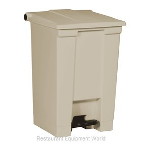 Rubbermaid FG614400BEIG Trash Receptacle, Indoor