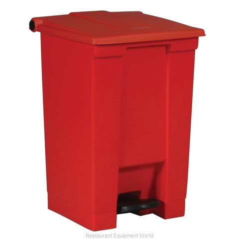 Rubbermaid FG614400RED Trash Garbage Waste Container Stationary