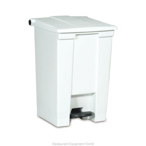 Rubbermaid FG614400YEL Trash Garbage Waste Container Stationary