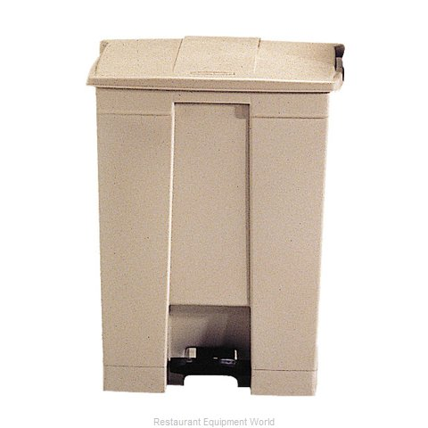 Rubbermaid FG614500BEIG Trash Receptacle, Indoor