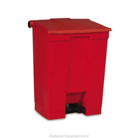 Rubbermaid FG614500YEL Trash Garbage Waste Container Stationary