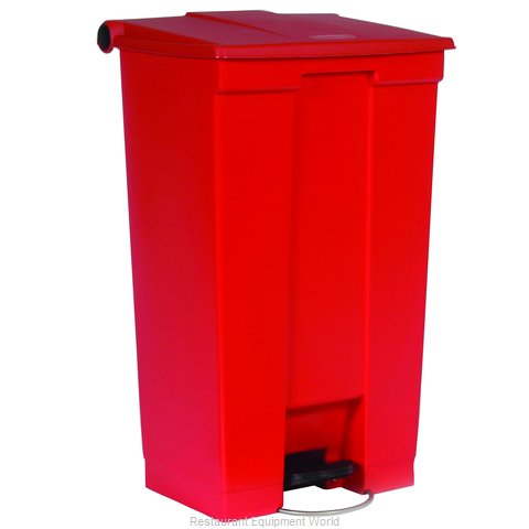 Rubbermaid FG614600RED Trash Garbage Waste Container Stationary