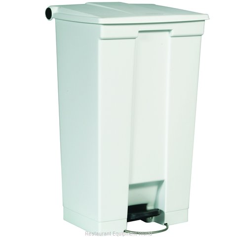 Rubbermaid FG614600WHT Trash Garbage Waste Container Stationary