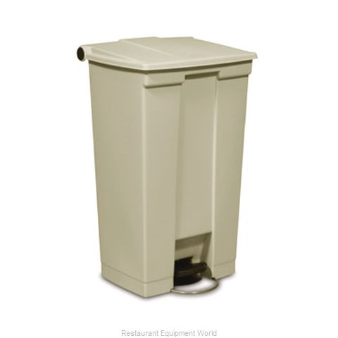 Rubbermaid FG614600YEL Trash Garbage Waste Container Stationary