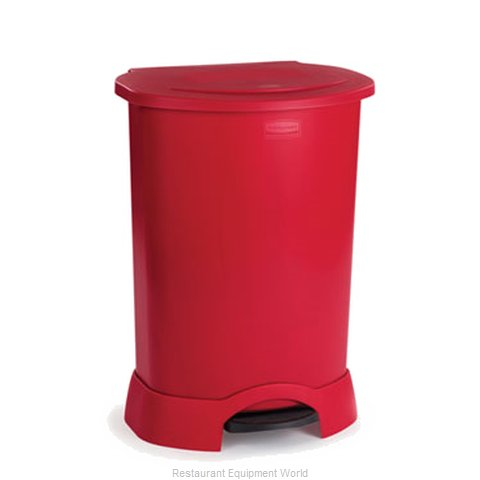 Rubbermaid FG614700RED Trash Garbage Waste Container Stationary
