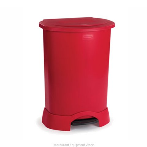 Rubbermaid FG614787RED Trash Garbage Waste Container Stationary