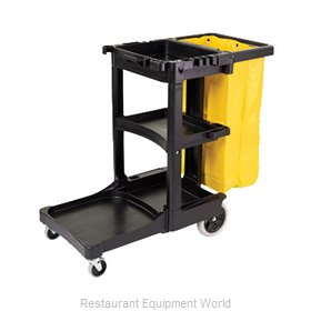 Rubbermaid FG617388BLA Cart, Housekeeping