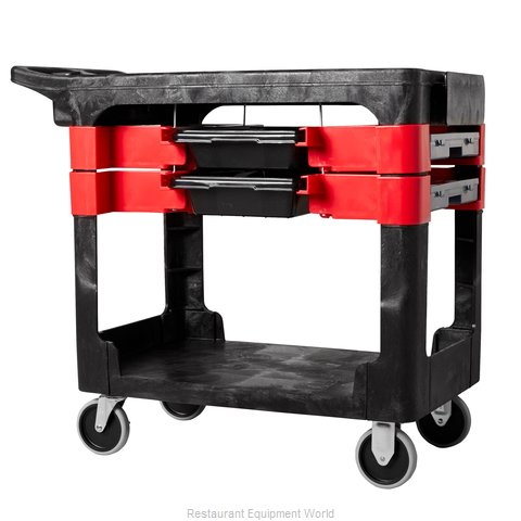 Rubbermaid FG618000BLA Utility Cart