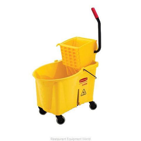 Rubbermaid FG618688YEL Mop Bucket Wringer Combination