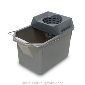 Rubbermaid FG619400STL Mop Bucket/Wringer Combination