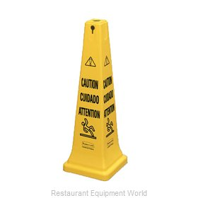 Rubbermaid FG627600YEL Sign, Wet Floor