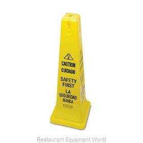 Rubbermaid FG627687YEL Sign, Wet Floor