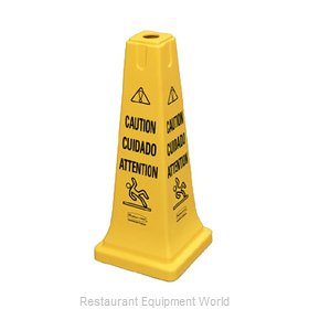 Rubbermaid FG627700YEL Sign, Wet Floor