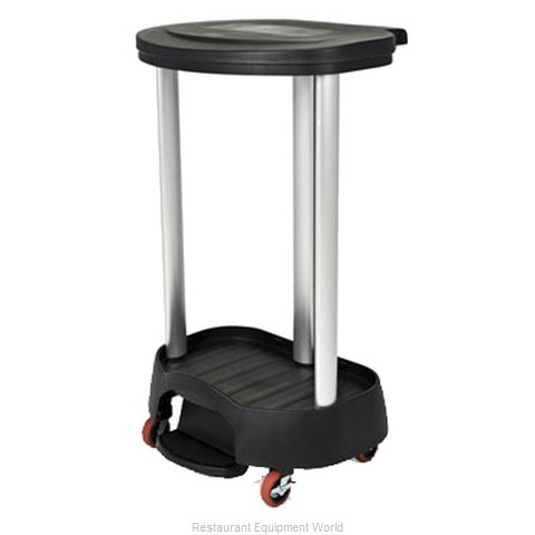 Rubbermaid FG630000BLA Cart, Laundry (Magnified)