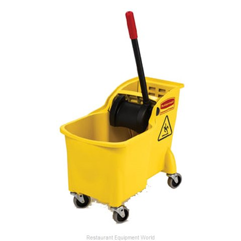 Rubbermaid FG738000YEL Mop Bucket Wringer Combination