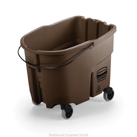 Rubbermaid FG757088BRN Mop Bucket (Magnified)