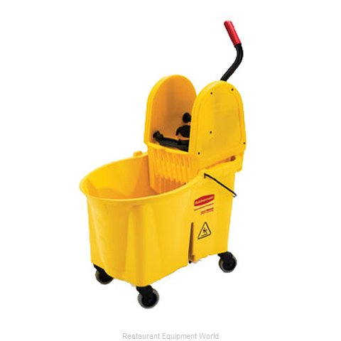 Rubbermaid FG757688YEL Mop Bucket Wringer Combination