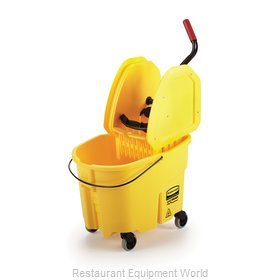 Rubbermaid FG757788YEL Mop Bucket Wringer Combination