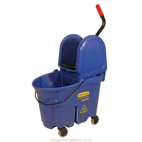 Rubbermaid FG757888BLUE Mop Bucket Wringer Combination