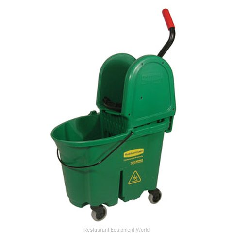 Rubbermaid FG757888GRN Mop Bucket Wringer Combination