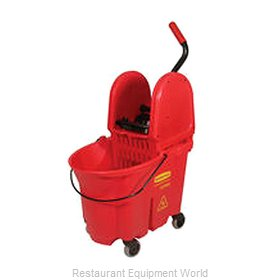 Rubbermaid FG757888RED Mop Bucket Wringer Combination