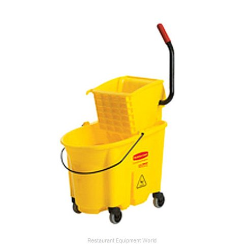 Rubbermaid FG758088YEL Mop Bucket Wringer Combination