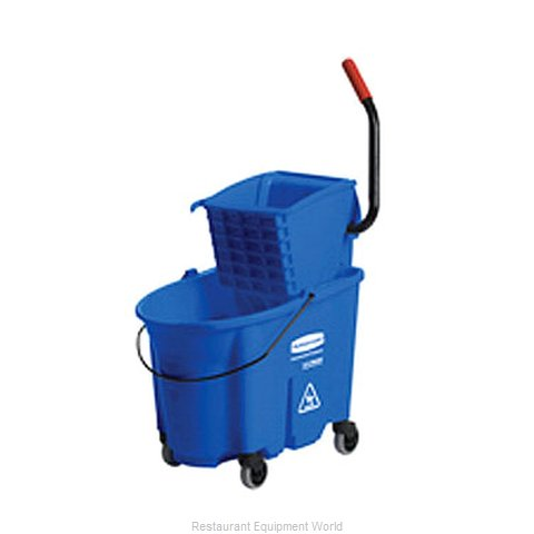 Rubbermaid FG758888BLUE Mop Bucket Wringer Combination