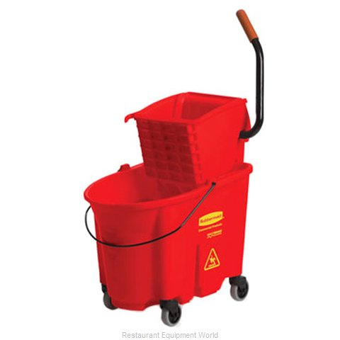 Rubbermaid FG758888RED Mop Bucket Wringer Combination