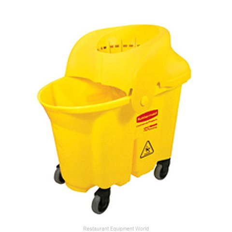 Rubbermaid FG759088YEL Mop Bucket Wringer Combination