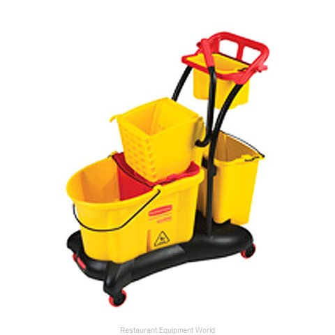 Rubbermaid FG778000YEL Mop Bucket Wringer Combination