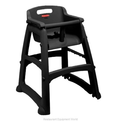 Rubbermaid FG780608BLA High Chair, Plastic