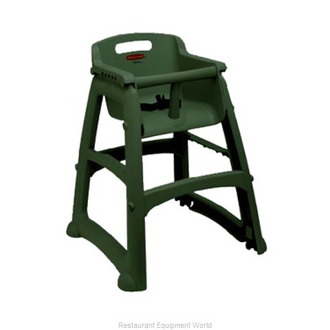 Rubbermaid FG781408DGRN Booster Child Youth Chair Plastic