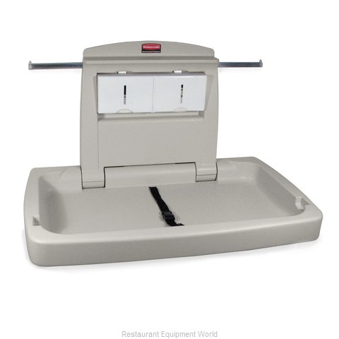 Rubbermaid FG781888LPLAT Horizontal Changing Table (Magnified)