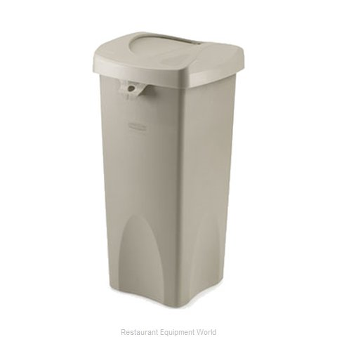 Rubbermaid FG792020BEIG Trash Garbage Waste Container Stationary