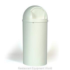 Rubbermaid FG817088OWHT Trash Receptacle, Indoor