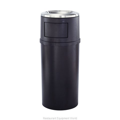 Rubbermaid FG818088BRN Ash Tray Top Sand Urn Trash Can Base