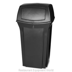 Rubbermaid FG843088BLA Trash Receptacle, Outdoor/Indoor
