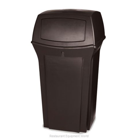Rubbermaid FG843088BRN Waste Receptacle Outdoor