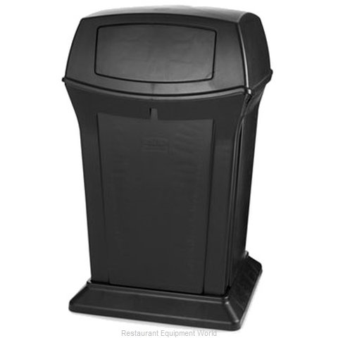 Rubbermaid FG917188BLA Waste Receptacle Outdoor (Magnified)