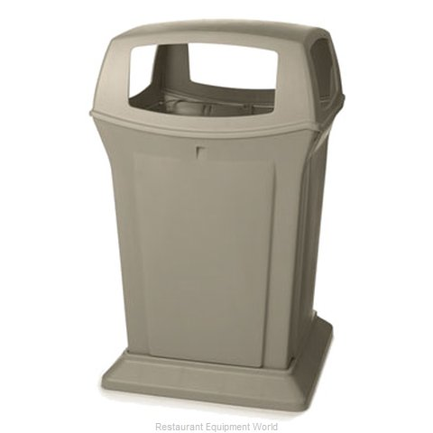 Rubbermaid FG917388BEIG Waste Receptacle Outdoor