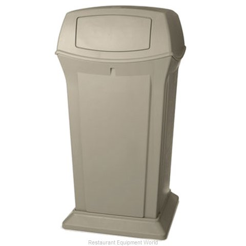 Rubbermaid FG917500BEIG Waste Receptacle Outdoor