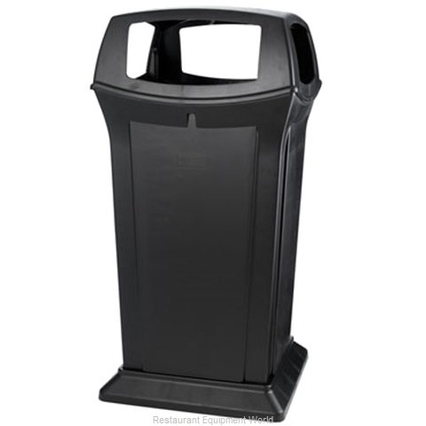 Rubbermaid FG917600BLA Waste Receptacle Outdoor