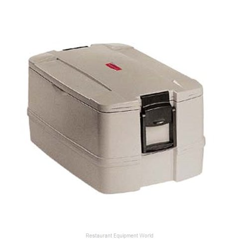 Rubbermaid FG940800PLAT Food Carrier Insulated Plastic