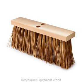 Rubbermaid FG9B2200BRN Broom, Push